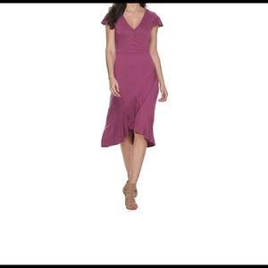 Juicy Couture faux wrap dress